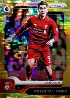 2019-20 Panini Prizm EPL SP GOLD Breakaway Robert Firmino #'d /10 Liverpool