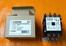 new Siemens Contactor, 42BF35AJ, 30 Amps, 3 pole, 24 volt coil, motor starter