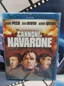 I CANNONI DI NAVARONE*blu ray FUORI CATALOGO Gregory Peck