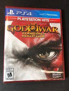 God of War III Remastered [ PlayStation Hits ] (PS4) NEW