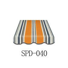 Markisenstoff  Markisenbespannung Ersatzstoff PLUS-Volant 4 x 3 m  SPD-040