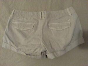 Womens American Eagle Outfitters Shorts Khaki Cotton 0