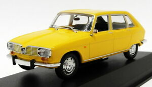 Maxichamps 1/43 Scale Diecast 940 113101 - 1965 Renault 16 - Yellow