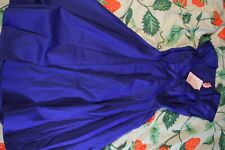 Royal Blue Pinup Girl Clothing PUG Couture Heidi dress XS extra small new nwt