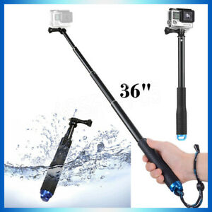 """36"""" Selfie Stick  Pole for GoPro Hero/Session 9 8 7 6 5 4 3+Hand Grip Extension"""