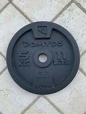Ghisa disco pesi Palestra bodybuilding domyos Home Gym 5Kg Foro da 28mm