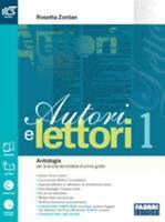 Autori e lettori vol.1 Fabbri scuola, Zordan, codice:9788891506498