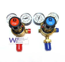 Oxygen and Acetylene Single Stage 2 Gauge Regulators