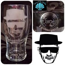 Breaking Bad Pint Glass Heisenberg.