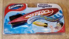 Brand New ORIGINAL SwimWays TOYPEDO  - RED - New in sealed Package