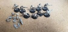 Cadian Squad Melta gun and 4Heavy Bolter 40K Imperial Guard oop Astra Militarum