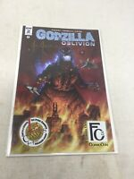 IDW Godzilla: Oblivion #2 Flower City Comic Con Exclusive Justo Signed Autograph