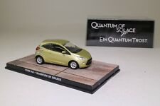 James Bond #60; Ford Ka; QUANTUM OF SOLACE; Universal Hobbies; ottimo in scatola