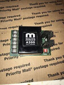 Maxitrol selectra A200