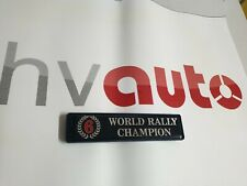 Emblème Martini 6 Hayon Lancia Delta Intégrale Evo Évolution Badge Trunk
