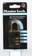 Master Lock 1 316 In 3 Dial Combination Steel Padlock 647d