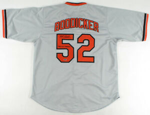 """Mike Boddicker Signed Orioles Jersey Inscribed """"1983 W.S. Champs"""" (RSA Hologram)"""