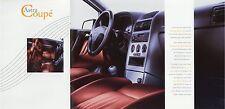 Prospekt 1999 Opel Astra Coupé Coupe 8 99 brochure Pkw Broschüre Auto brosjyre