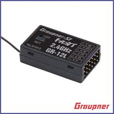 Graupner GR12L GR-12L 12L 6 Channel 6 CH 2.4ghz HoTT Receiver RX S1012.LOSE
