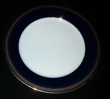 "Romanov Genuine Cobalt Blue - Dinner Plate - 10 1/2"" Diameter"