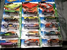 HOT WHEELS  2011 TREASURE HUNT SET-COMPLETE ALL 15 CARS VHTF RARE