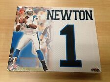 """Cam Newton Jersey Number Collectible Canvas Picture 11"""" x 9"""" (BuyMVP)"""