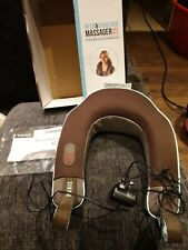 HoMedics Neck and Shoulder Massager with Heat still in box with instructions.