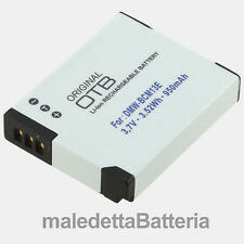 DMW-BCM13 Batteria Alta Qualità per Panasonic Lumix DMC DMC-ZS30 DMC-ZS40 (XZ2)
