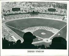 1970's Los Angeles Dodgers Stadium Original News Service Photo