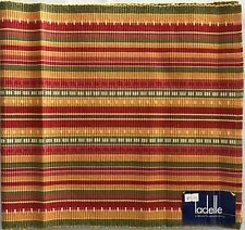 Tex Mex Rust Table Runner - 35 x 160cm 100% Cotton - by Ladelle Great Gift Idea