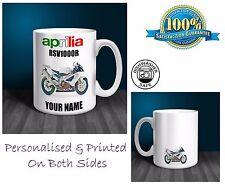 APRILIA RSV1000R Moto Regalo Personalizado Taza de cerámica (MB066)