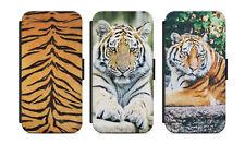 Samsung Galaxy Flip Etui Tasche Handyhülle Case Cover Schutz Tiger Motiv Bild s1