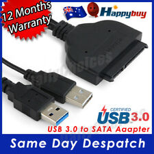 "USB 3.0 To SATA External Converter Adapter Cable For 2.5"" HDD SSD SATA III"