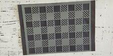 Buffalo Plaid Checkered Stencil, Reusable Mylar Template,Rustic Farmhouse(VRF04)