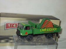 IXO CAMION UNIC MZ 37 1965 AIR LIQUIDE CITERNE INFLAMMABLE  NEUF BOITE  1/43°