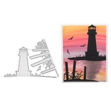 Lighthouse Metal Cutting Dies Stencil DIY Scrapbooking Album Stamp Paper Crafts