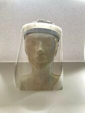 Gesichtvisier schützt Mund  Nase  Augen. Gesichtschutz mit Zertifikat.