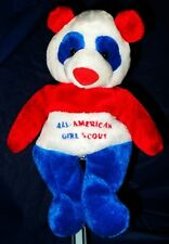 """~RARE~ BRAND NEW  *MARY MEYER  """"ALL AMERICAN GIRL SCOUT BEANIE BEAR"""""""