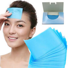100 Sheets Make Up Oil Absorbing Blotting Facial Face Clean Paper