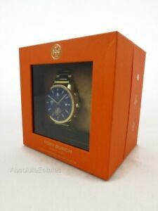 NEW Tory Burch Touchscreen Smartwatch ToryTime Gigi Gold Watch TBT2000 NIB
