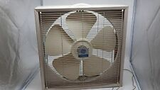 Vintage GE General Electric Box Fan Industrial 3 Speed Made In USA