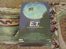 NEW STEVEN SPIELBERG~E.T. THE EXTRA-TERRESTRIAL~GREEN DOOR EDITION~VHS~1988~MCA~