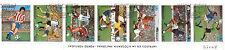 PARAGUAY bande 7 timbres Sport coupe du monde de football  BL97-3