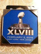 Super Bowl 2014 Neoprene 4 Coaster Set - NFL Licensed Product