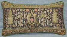 Pillow made w Ralph Lauren Rutherford Park Green Tapestry Fabric 20x10 trim cord