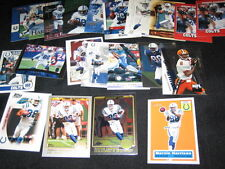 MARVIN HARRISON LOT (21) AUTHENTIC COLLECTIBLE VINTAGE NFL LEGEND FOOTBALL CARDS