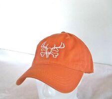 READING FARMS USA Burnt Orange baseball cap ball hat Hunting white LOGO