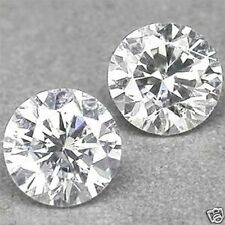 0.155 CTS TOTAL 2 X 2.60MM G-H-I SI2-I1 ROUND NATURAL LOOSE WHITE DIAMONDS PAIR