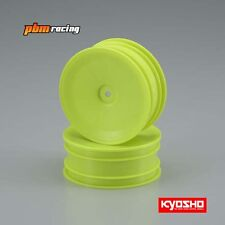 Kyosho 1/10 2wd Front Buggy 12mm Hex Wheels Yellow 56 size/2pcs - W5029