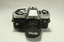 Minolta X-300 Camera Body 35mm SLR Film Camera GEMINI 28MM 2.8
